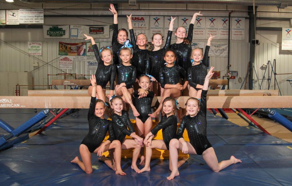 Gymnastics Team Photos - Myrtle Beach Gymnastics Classes -1743