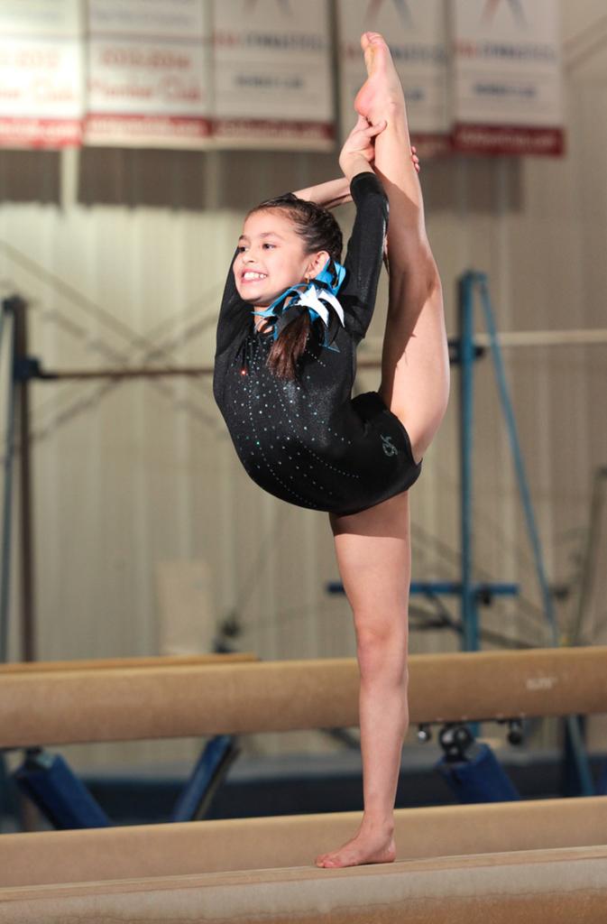 gymnastics team photos